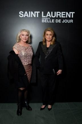 Debbie Harry & Catherine Deneuve