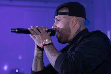 Private concert of Nicky Jam for the launch of the Hublot Big Bang Meca-10 Nicky Jam (2)