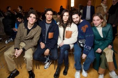 Tamino Amir, Shain Boumedine, Aymeline Valade, Nicolas Maury & Lukas Ionesco