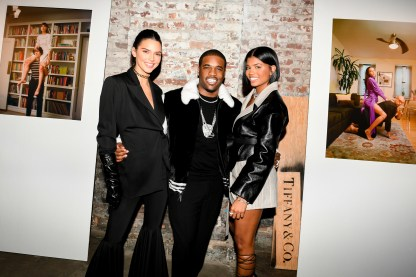 Kendall Jenner, A$AP Ferg, Renell Medrano