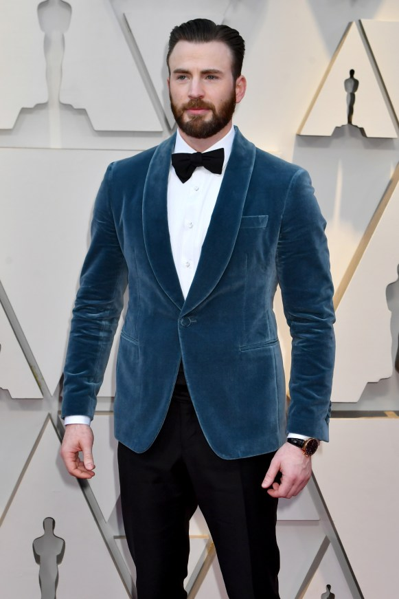 HOLLYWOOD, CA - FEBRUARY 24: Chris Evans attends the 91st Annual Academy Awards at Hollywood and Highland on February 24, 2019 in Hollywood, California. (Photo by Jeff Kravitz/FilmMagic)