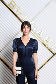 MILAN, ITALY - FEBRUARY 22: Jeanne Damas attends BVLGARI - Dinner Party - Milan Fashion Week FW19 on February 22, 2019 in Milan, Italy. (Photo by Daniele Venturelli/Daniele Venturelli/Getty Images for BVLGARI )