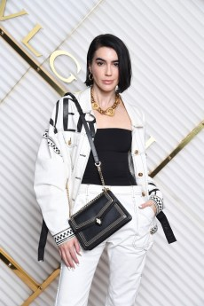 MILAN, ITALY - FEBRUARY 22: Brittany Xavier attends BVLGARI - Dinner Party - Milan Fashion Week FW19 on February 22, 2019 in Milan, Italy. (Photo by Daniele Venturelli/Daniele Venturelli/Getty Images for BVLGARI )
