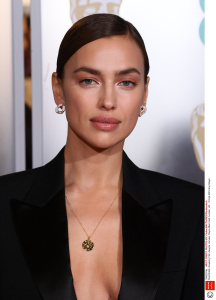 Mandatory Credit: Photo by David Fisher/BAFTA/REX/Shutterstock (10082374jy) Irina Shayk 72nd British Academy Film Awards, Arrivals, Royal Albert Hall, London, UK - 10 Feb 2019