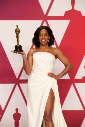 THE OSCARS® - The 91st Oscars® broadcasts live on Sunday, Feb. 24, 2019, at the Dolby Theatre® at Hollywood & Highland Center® in Hollywood and will be televised live on The ABC Television Network at 8:00 p.m. EST/5:00 p.m. PST. (Rick Rowell via Getty Images) REGINA KING