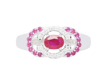 Gringoire Joaillier - LES ROMANTIQUES rubis BS1852RFBTS