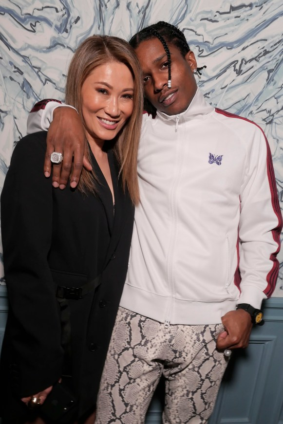 Irene Roth and A$AP Rocky