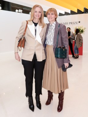 LVMH PRIZE 2019 COCKTAIL - DELPHINE ARNAULT AND GABRIELA HEARST ©François GOIZE