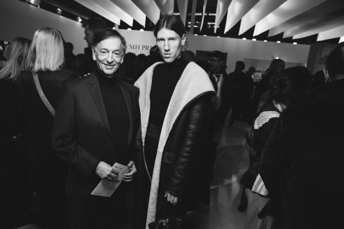 LVMH PRIZE 2019 COCKTAIL - JEAN-PAUL CLAVERIE AND LUDOVIC DE SAINT SERNIN © VIRGILE GUINARD