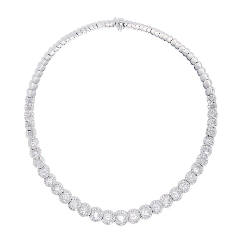 10-41-791 RseCt Diam Necklace QR