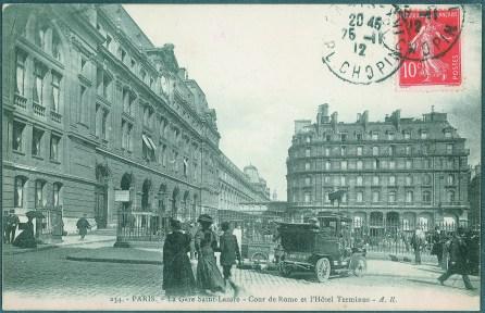 1890 PASSERELLE DE LIMPERATRICE
