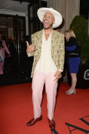 NEW YORK, NEW YORK - MAY 06: Anderson .Paak departs The Mark Hotel for the 2019 'Camp: Notes on Fashion' Met Gala on May 06, 2019 in New York City. (Photo by Andrew Toth/Getty Images for The Mark Hotel)