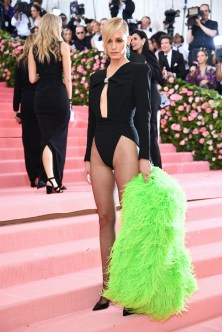 NEW YORK, NEW YORK - MAY 06: Amber Valletta attends The 2019 Met Gala Celebrating Camp: Notes on Fashion at Metropolitan Museum of Art on May 06, 2019 in New York City. (Photo by Dimitrios Kambouris/Getty Images for The Met Museum/Vogue)