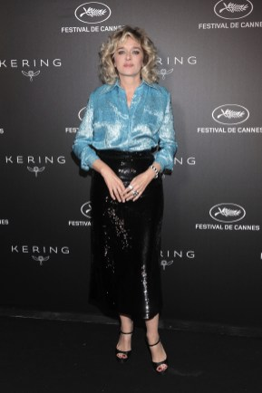 CANNES, FRANCE - MAY 19: Valeria Golino attends the Kering and Cannes Film Festival Official Dinner at Place de la Castre on May 19, 2019 in Cannes, France. (Photo by Daniele Venturelli/Getty Images for Kering)