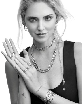 CHIARA FERRAGNI for Pomellato shot by Cass Bird_BRERA COLLECTION