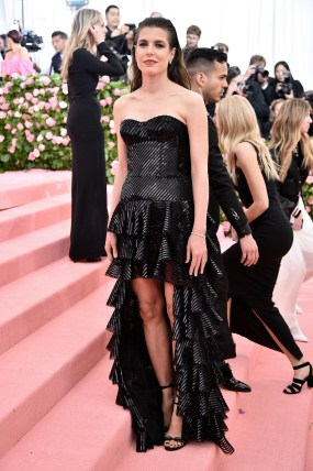 NEW YORK, NEW YORK - MAY 06: Charlotte Casiraghi attends The 2019 Met Gala Celebrating Camp: Notes on Fashion at Metropolitan Museum of Art on May 06, 2019 in New York City. (Photo by Theo Wargo/WireImage)