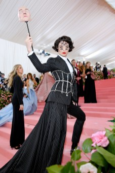 NEW YORK, NEW YORK - MAY 06: Ezra Miller attends The 2019 Met Gala Celebrating Camp: Notes on Fashion at Metropolitan Museum of Art on May 06, 2019 in New York City. (Photo by Dia Dipasupil/FilmMagic)