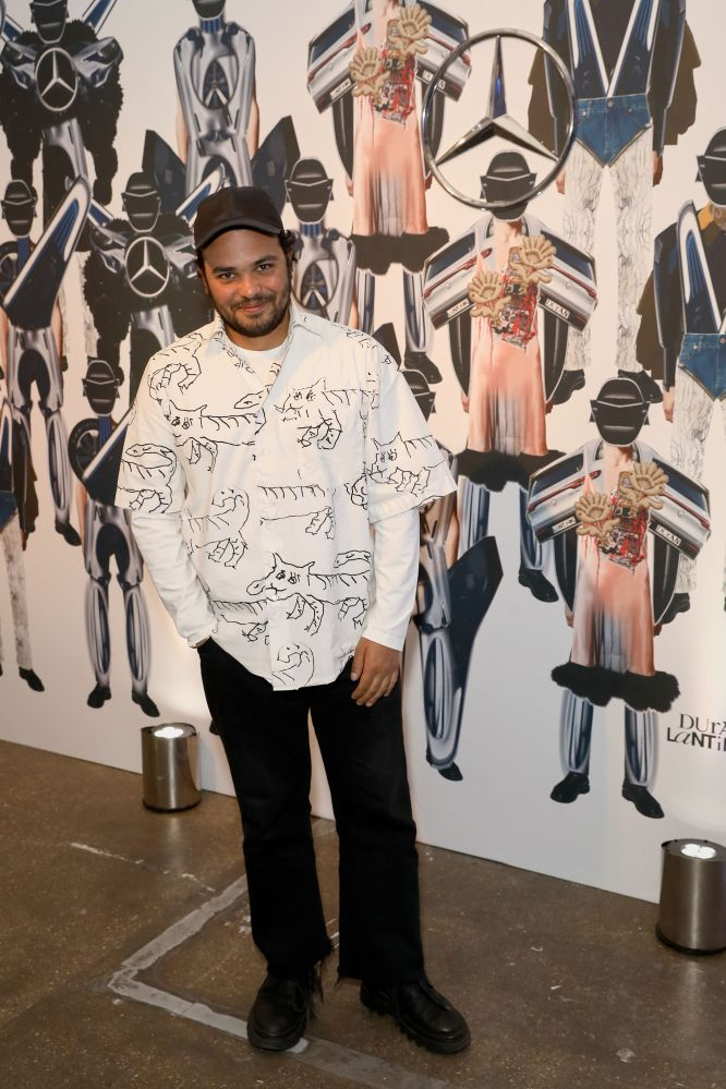 LONDON, ENGLAND - JUNE 08: Duran Lantink attends the celebration by Mercedes-Benz and Lena Waithe for How To in London on June 08, 2019 in London, England. (Photo by Darren Gerrish/WireImage for Mercedes-Benz and Lena Waithe)