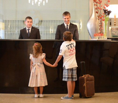 RFH Hotel de Russie - FAMILY PACKAGE Children at Reception