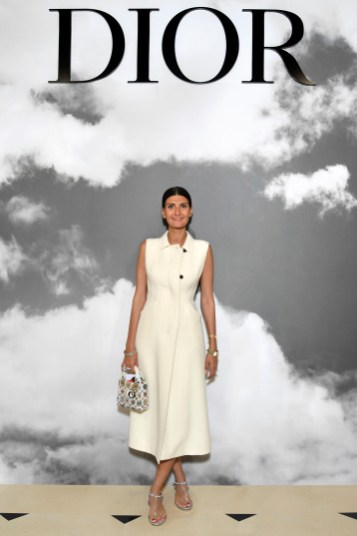 PARIS, FRANCE - JULY 01: Giovanna Battaglia attends the Christian Dior Haute Couture Fall/Winter 2019 2020 show as part of Paris Fashion Week on July 01, 2019 in Paris, France. (Photo by Pascal Le Segretain/Getty Images for Dior)