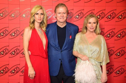 Tods - Anthony Ghnassia 045 - Nicky Hilton, Richard Hilton and Kathy Hilton