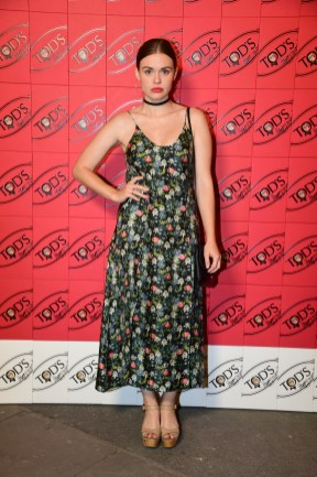 PARIS, FRANCE - JULY 02: Holland Roden attends Tod's X Alber Elbaz Happy Moments at Yoyo Palais De Tokyo on July 02, 2019 in Paris, France. (Photo by Anthony Ghnassia/WireImage)