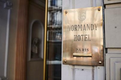 Normandy Hotel EntrÇe ∏Damien Boisson-Beráu