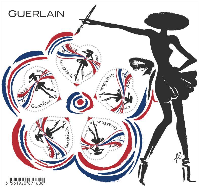 Bloc de Timbre - Guerlain x La Poste