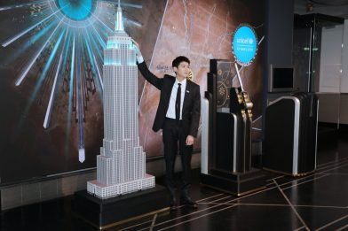 Chopard Brand Ambassador Roy Wang attends the Lighting Ceremony of Empire State Building on Nov 20 2019_1