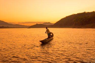 River Mekong, Luang Prabang; Laos
