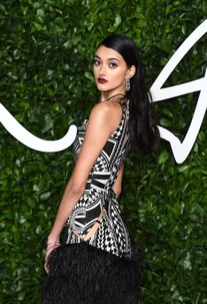 LONDON, ENGLAND - DECEMBER 02: Neelam Gill arrives at The Fashion Awards 2019 held at Royal Albert Hall on December 02, 2019 in London, England. (Photo by Jeff Spicer/BFC/Getty Images)