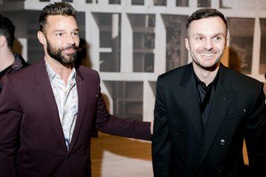 Ricky Martin, Kris Van Assche