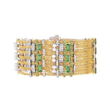 Tweed Chaine Bracelet-hd