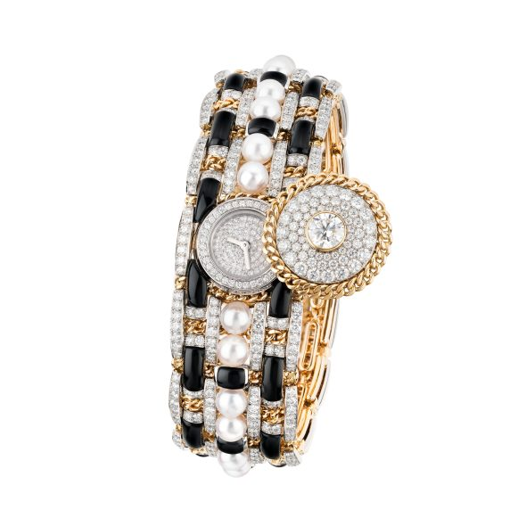 Tweed Contraste Watch open-hd