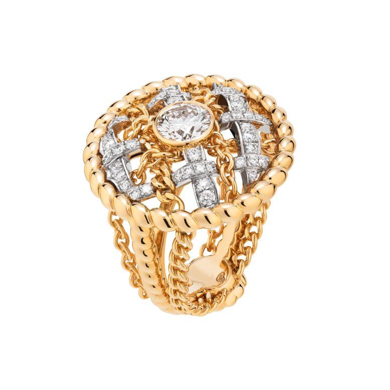 Tweed Cordage Ring Yellow Gold-hd