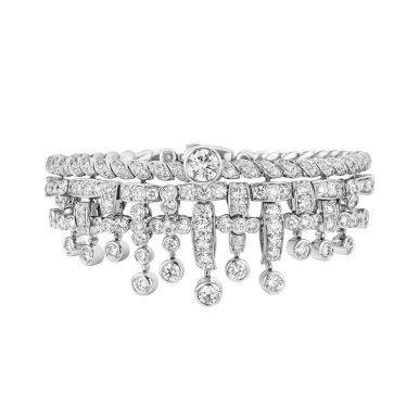 Tweed Frange Bracelet-hd