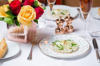 Chaire de tourteau, chou-fleur et bergamote (3)