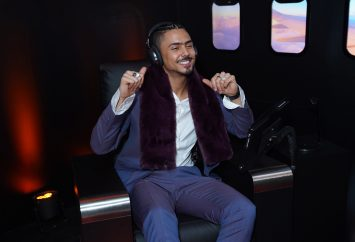 NEW YORK, NEW YORK - MARCH 10: Quincy Brown attends as Montblanc celebrates the launch of MB 01 Headphones & Summit 2+ at World of McIntosh on March 10, 2020 in New York City. (Photo by Sean Zanni/Getty Images for Montblanc)