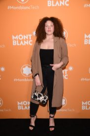 NEW YORK, NEW YORK - MARCH 10: Alexis Ruby attends as Montblanc celebrates the launch of MB 01 Headphones & Summit 2+ at World of McIntosh on March 10, 2020 in New York City. (Photo by Dimitrios Kambouris/Getty Images for Montblanc)