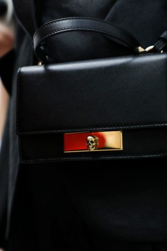 The Mini Skull Lock Bag (BTS photo by Adama Jalloh) 3