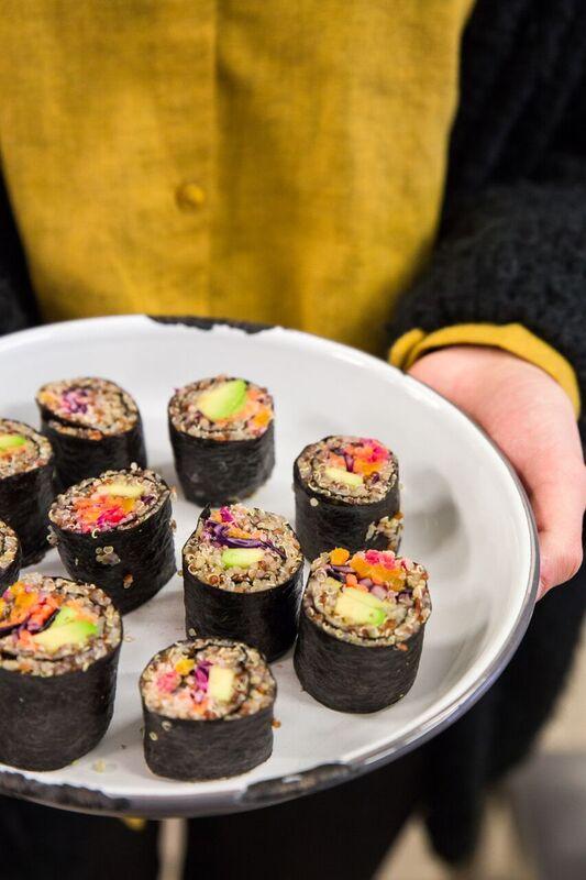 visuel Maki quinoa et légumes