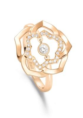 Piaget_Rose_Ring RG Drop Diamond Chain_G34UW100