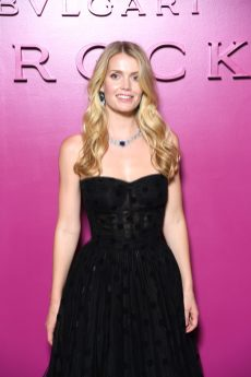 ROME, ITALY - SEPTEMBER 14: Lady Kitty Spencer attends Bulgari Barocco on September 14, 2020 in Rome, Italy. (Photo by Daniele Venturelli/Getty Images for Bulgari)