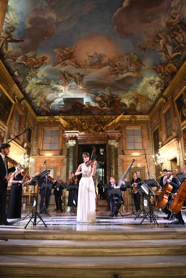 ROME, ITALY - SEPTEMBER 14: Francesca Dego performs during during Bulgari Barocco on September 14, 2020 in Rome, Italy. (Photo by Daniele Venturelli/Getty Images for Bulgari)