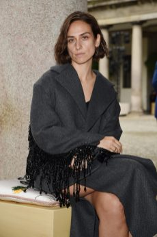 MILAN, ITALY - SEPTEMBER 25: Erika Boldrin attends the BOSS Fashion Show during the Milan Fashion Week Spring/Summer 2021 on September 25, 2020 in Milan, Italy. (Photo by Stefania M. D'Alessandro/Getty Images for HugoBoss)
