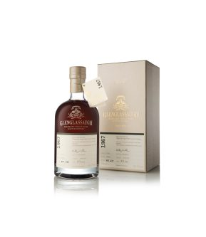 Glenglassaugh 1967 bottle infront