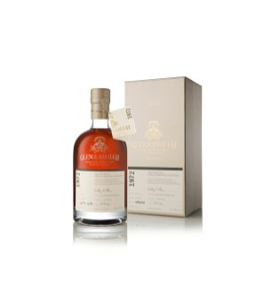 Glenglassaugh 1972 bottle infront