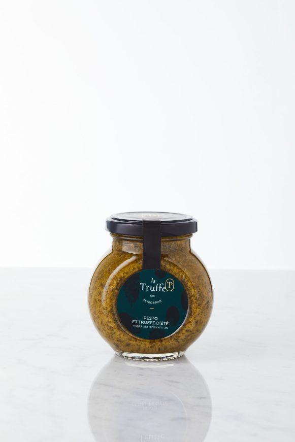 Sauce Pesto et Truffe d'été Tuber aestivum 3% - La Truffe par Petrossian