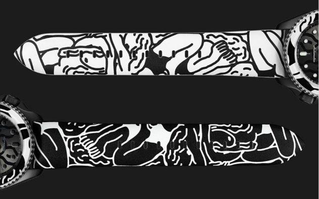 Seiko 5 Sports x AUTO MOAI - bracelets