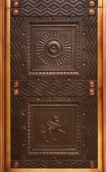 IMAGE 30 - Elevator exterior door detail - Steve Hall © Hall + Merrick Photographers